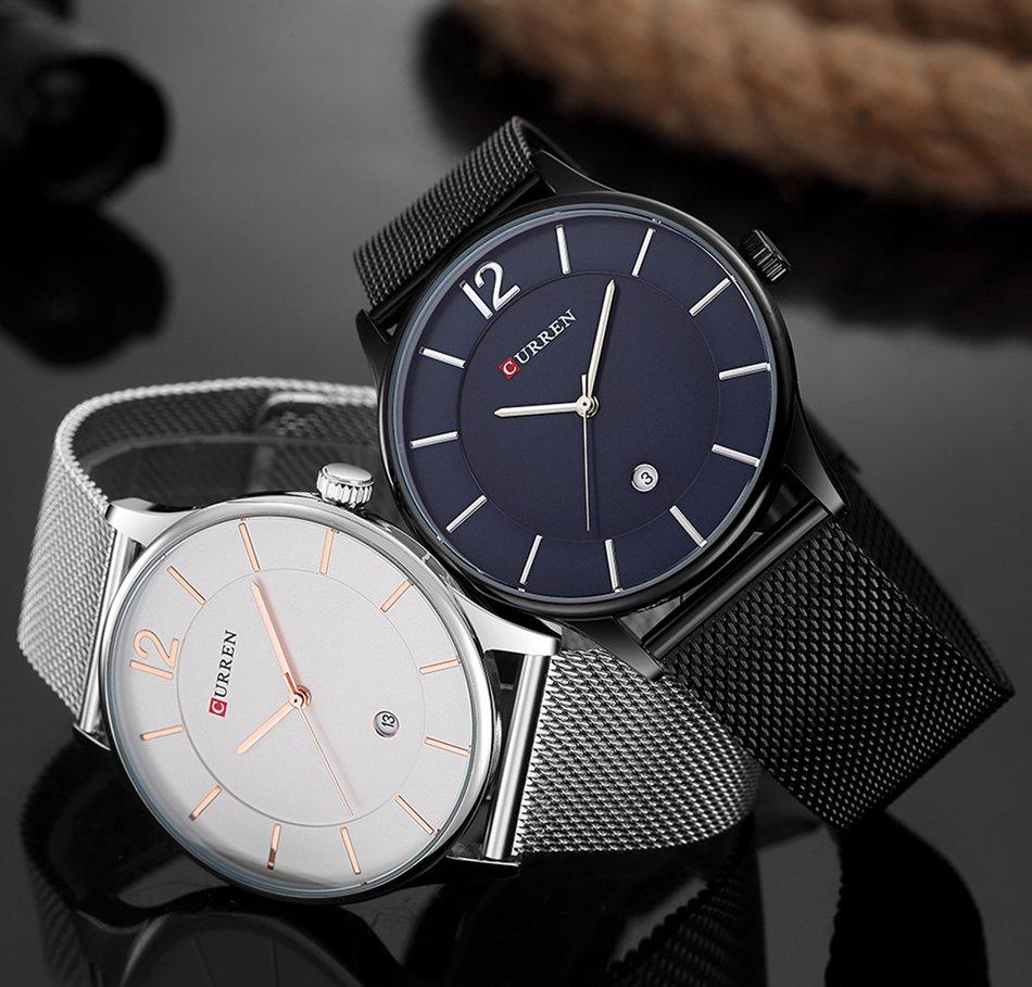 CURREN 8231 Ultra Thin Simple Luxury Male Quartz Wrist Watch