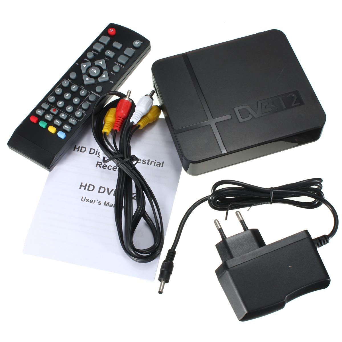 Buy K2 DVB-T/T2 TV Receiver 3D Digital Video Terrestrial MPEG4 PVR HD 1080P Set Top Box