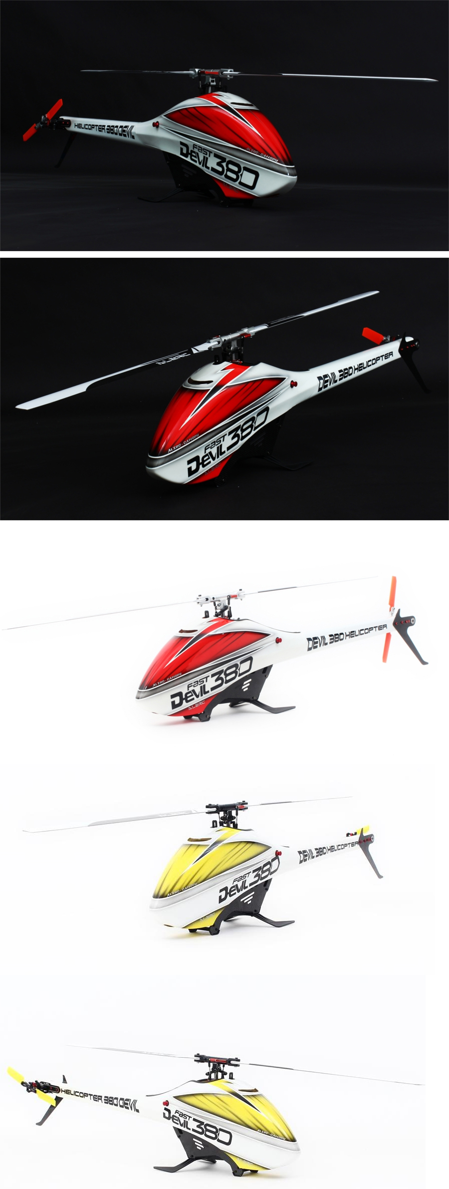 ALZRC Devil 380 FAST RC Helicopter Kit Spirit Version - Photo: 1