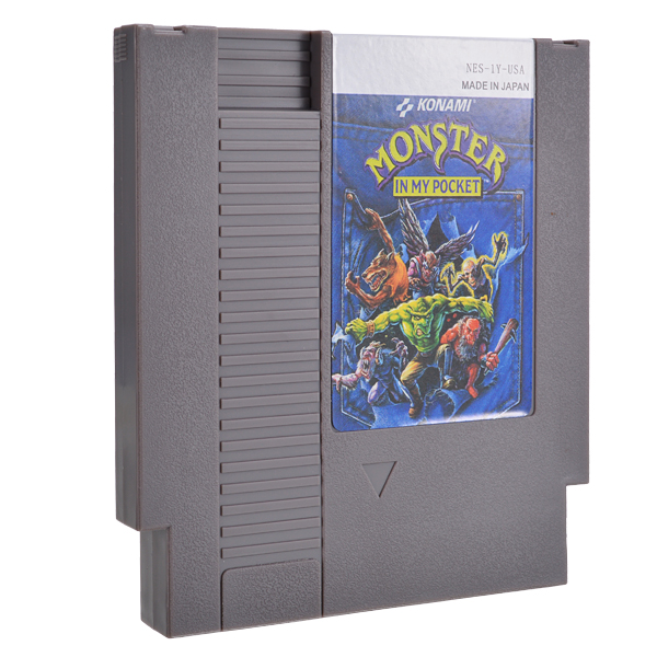 Monster in My Pocket 72 Pin 8 Bit Game Card Cartridge for NES Nintendo