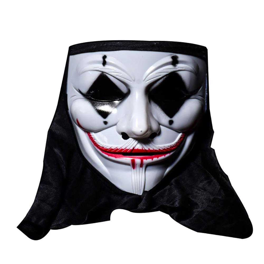 Halloween Skull Vampire V Clown Mask Bar Dance Horror S