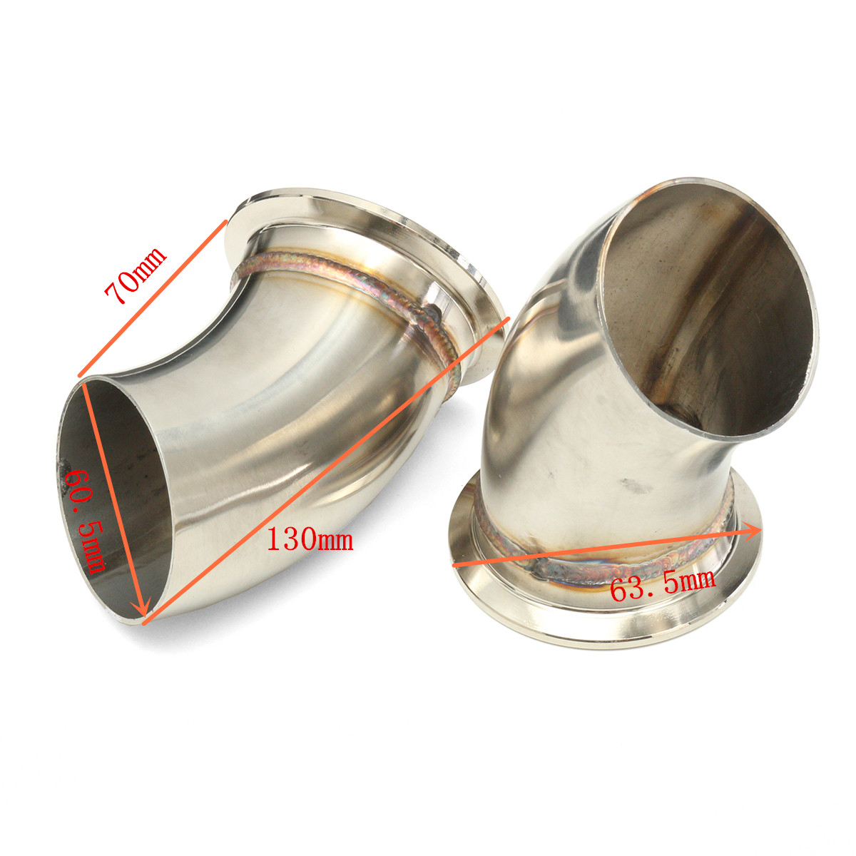 2 5 inch 6 3mm dual exhaust catback downpipe cutout valve