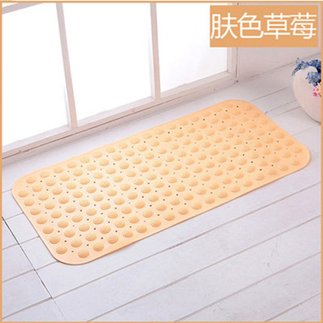 Tpr Odorless With Suction Cup Bathroom Mat Bathroom Mat Shower Room Mat Bath Mat