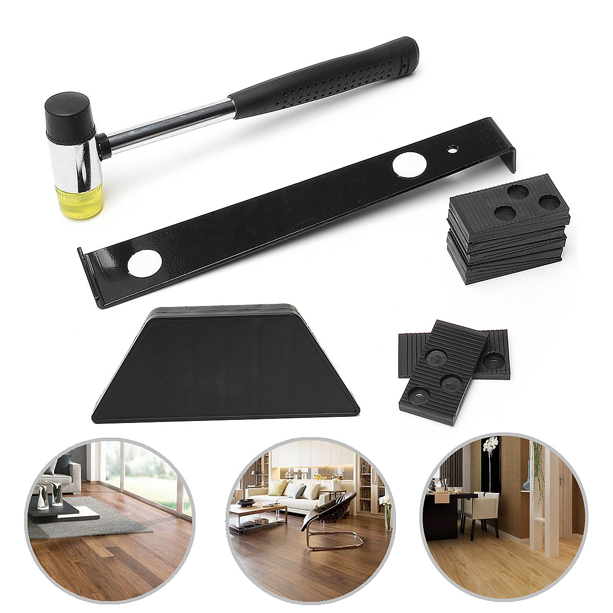 Wood Laminate Flooring Installation Tool Floor Fitting Kit
