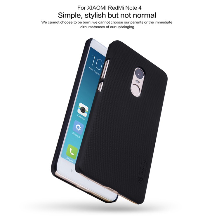info for d38a5 c7dc5 NILLKIN Frosted Shield Matte PC Hard Back Cover Case For Xiaomi Redmi Note 4