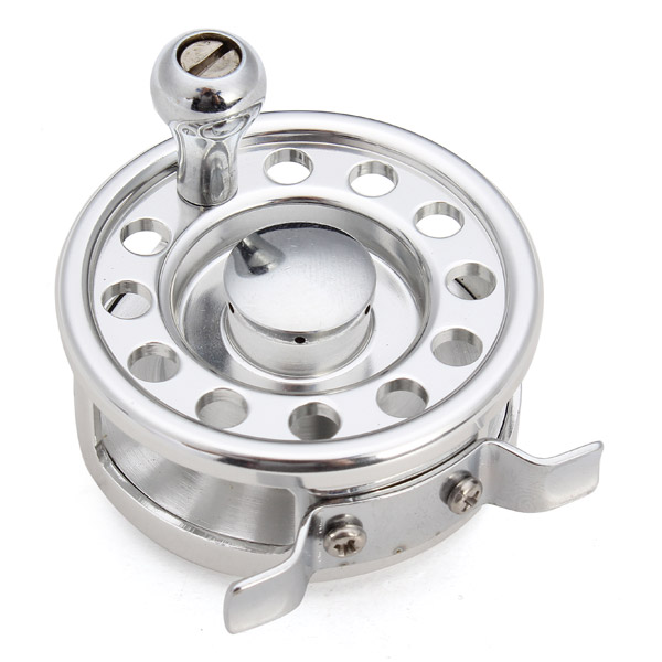 Aluminum Fish Line Raft Wheel Fly Fishing Reel Fish Lin