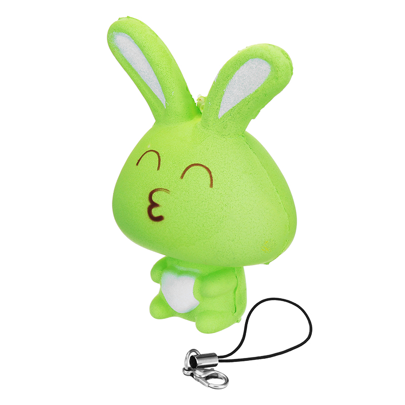 Squishy Bunny : Squishy Rabbit Bunny 8cm Soft Slow Rising Phone Bag Strap Decor Collection Gift Toy Alex NLD