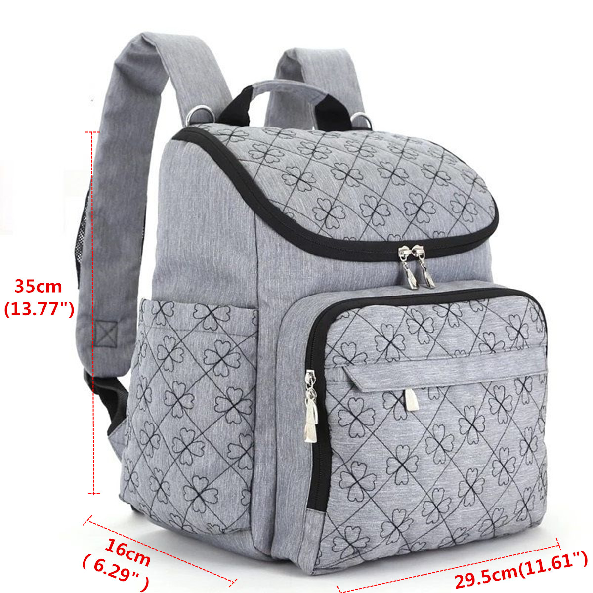 IPRee Travel Backpack Mummy Maternity Baby Diaper Bag ...