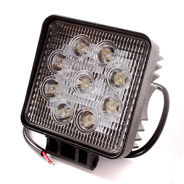 Buy 27W 9LED Driving Work Flood Light Lamp For Offroad Jeep Truck Boat SUV
