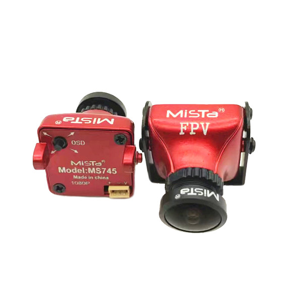 Upgraded Mista 800TVL CCD 2.1mm Wide Angle HD 1080P 16:9 OSD FPV Camera PAL/NTSC Switchable