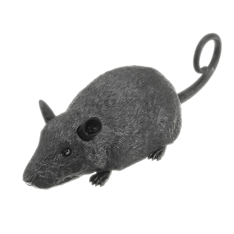 Scary Infrared RC Simulation Science Education Plush Mouse Toy For Kids Children Birthday Gift - Photo: 7