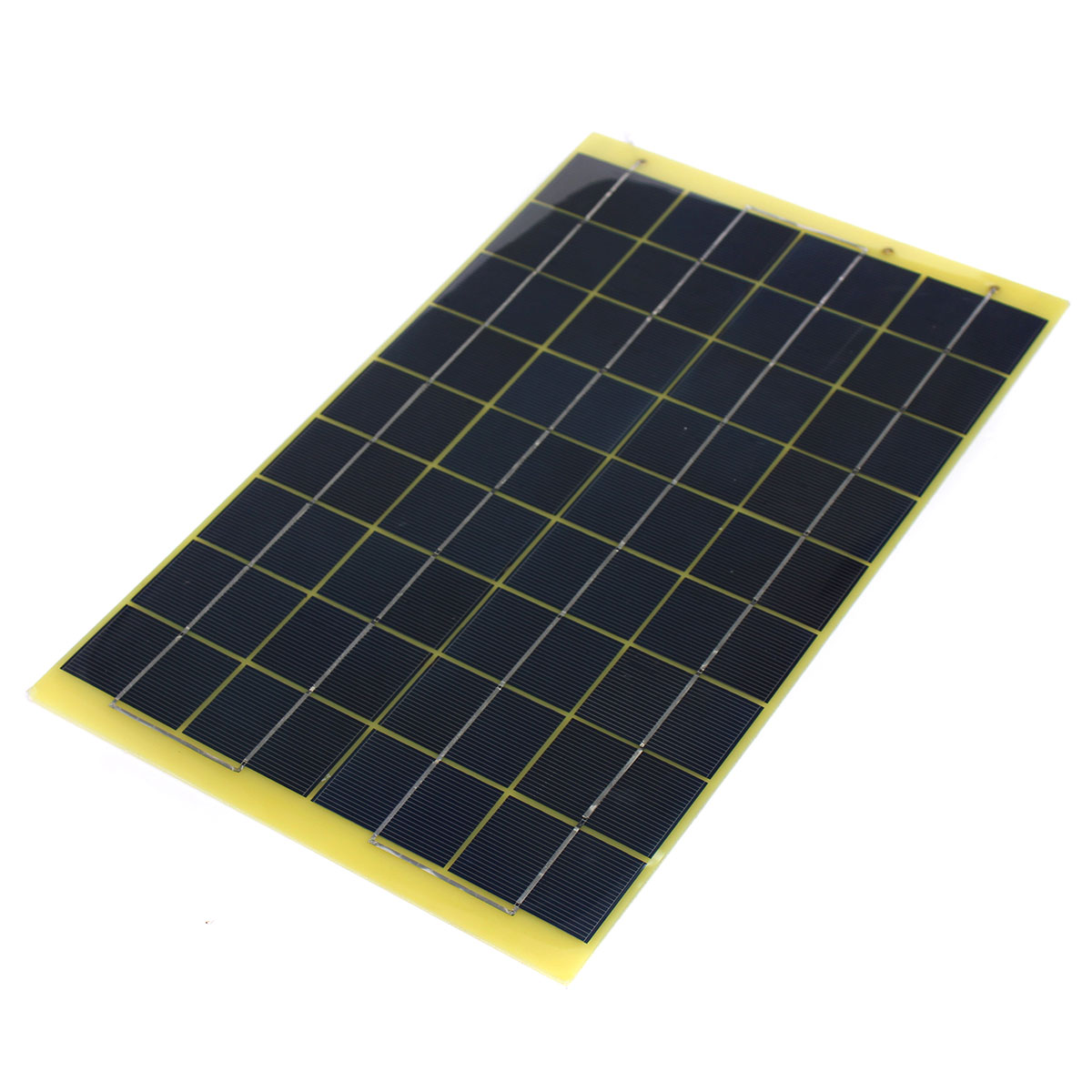 1 2 Resin Panel : W v epoxy resin poly solar panel with diode for charge
