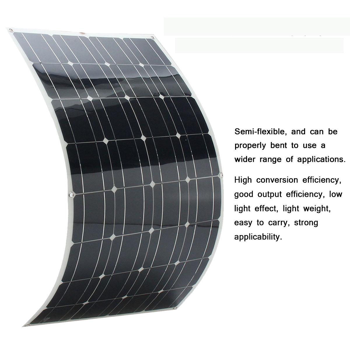 Elfeland Sp 38 18v 100w 1050x540x2 5mm Flexible Solar