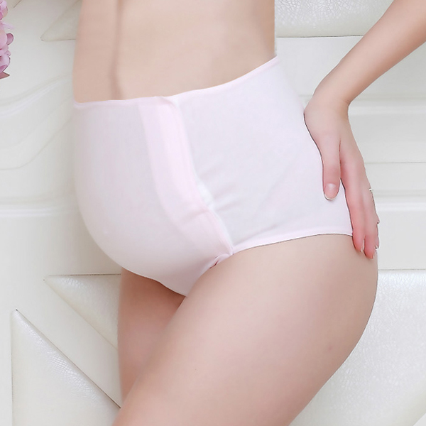 Comfy Cotton High Waist Maternity Panties Antenatal Care Antibacterial Underwear For Pregnant Woman
