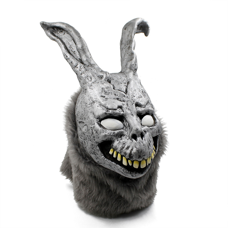 Hunting Latex Scary Rabbit Animals Mask Full Face Cosp