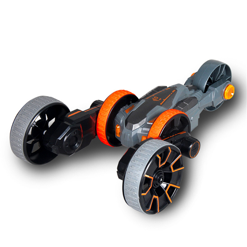 YADE Y6 RC Car 5 Wheels Rolling Up Climber Pirouette Cars With Light
