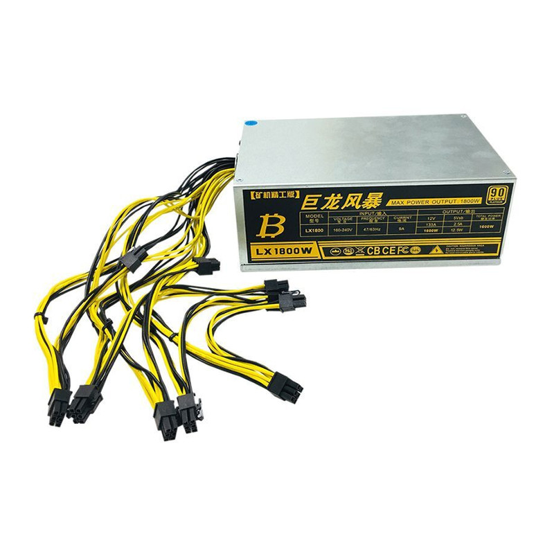 1600W/1800W Antminer APW3 Mining Rig Mining Mahine Miner Mining Power Supply For S7 S9 L3+ D3 R4