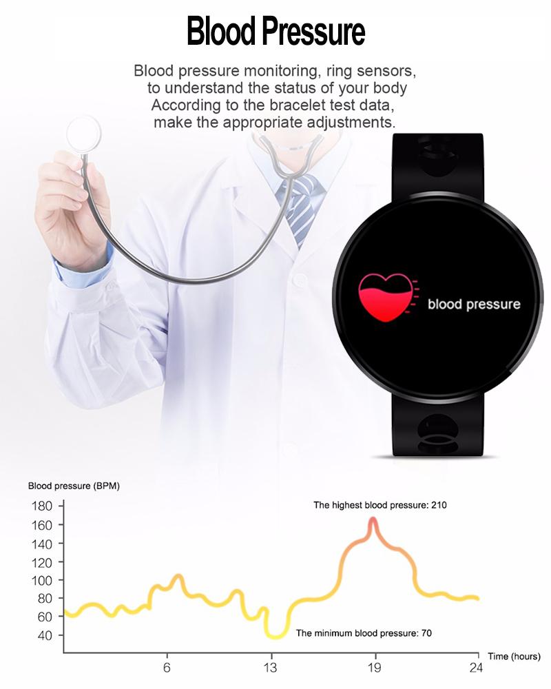 Kaload Cf006h Color Screen Heart Rate Blood Pressure