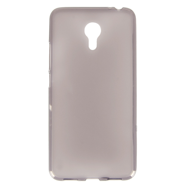 Transclucent Pudding Soft Silicone Back Cover Case For Meizu M3 Note