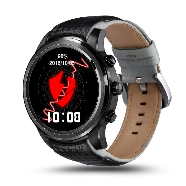 Buy Lemfo LEM5 3G Android 5.1 GPS Heart Rate Monitor Bluetooth Smart Watch