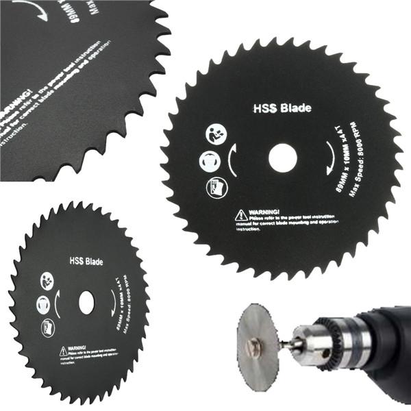 89mm 10mm Hole 44 Teeth HSS Circular Saw Blade Cutting Discs Wheel