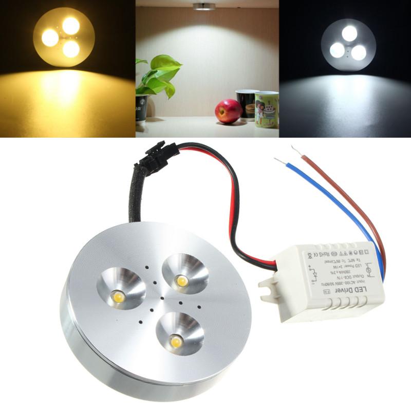 3W Kitchen LED Under Cabinet Lighting Kit Energy Saving