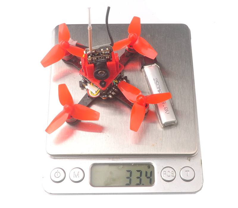 Cute66 66mm Wheelbase Teeny F4 OSD Brushless DIY 5.8G FPV Racing Drone w/ 600TVL Camera BNF