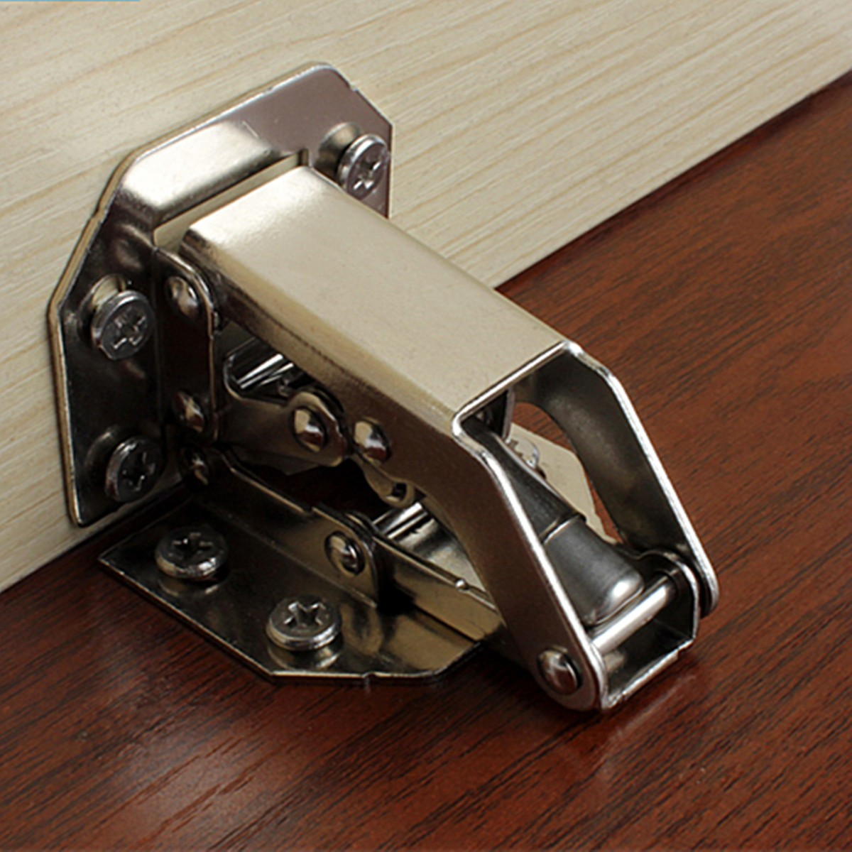 2pcs Cabinet Bridge Hinge Cupboard Door Hinge Alexnld Com