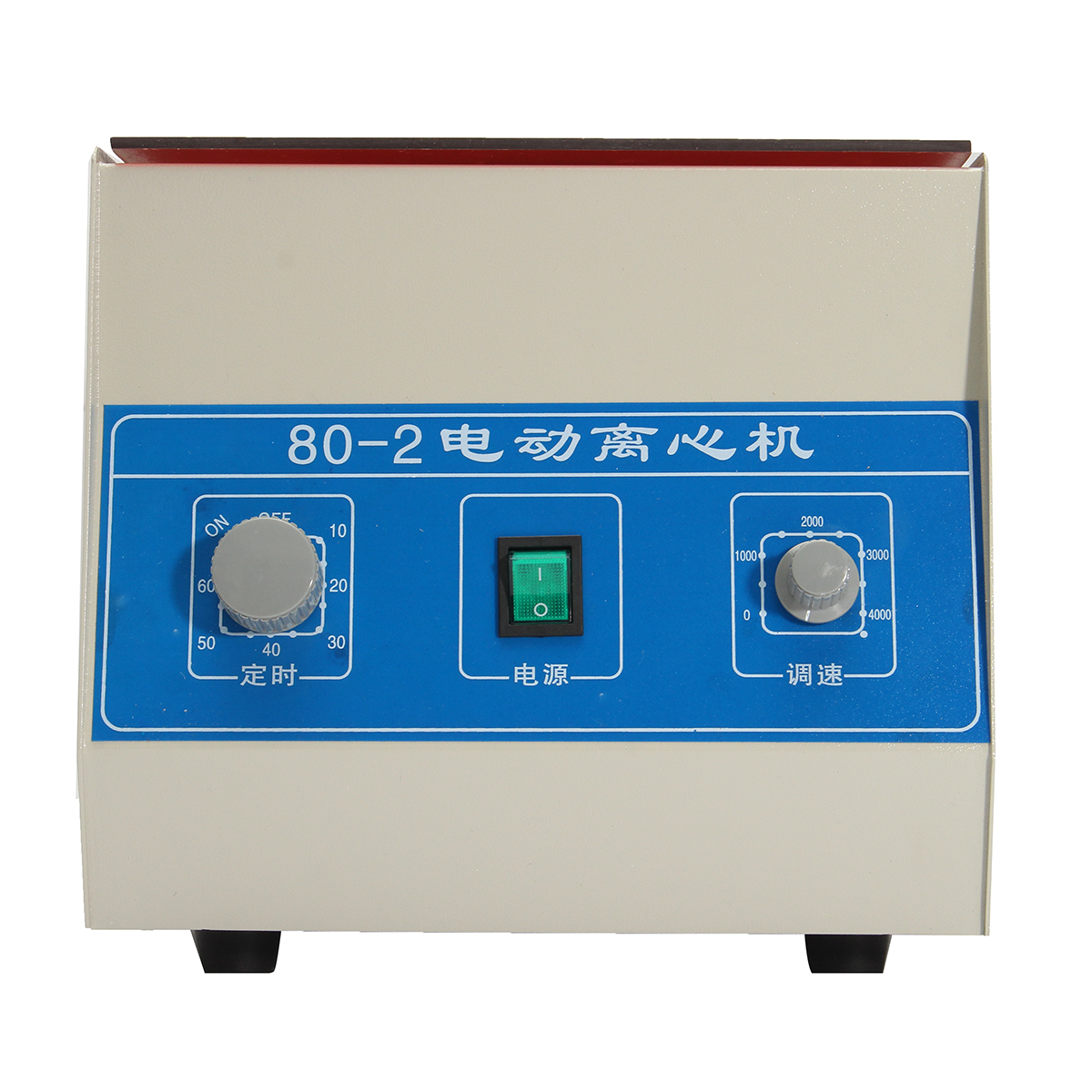 80 2 4000rpm electric centrifuge with timer adjustable