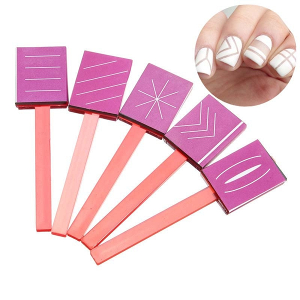Buy 3D Magnetic Polish Sticky Rubber Magnet Plate Nail Tools