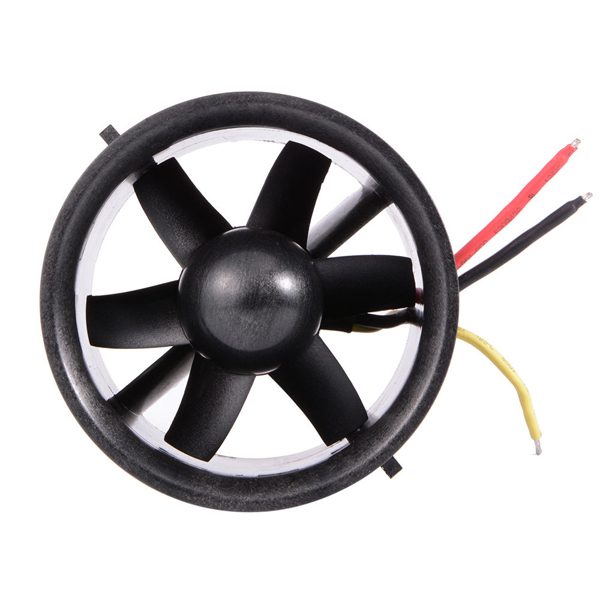 70mm Ducted Fan EDF Unit With 3000KV Brushless Outrunner Motor for RC Model