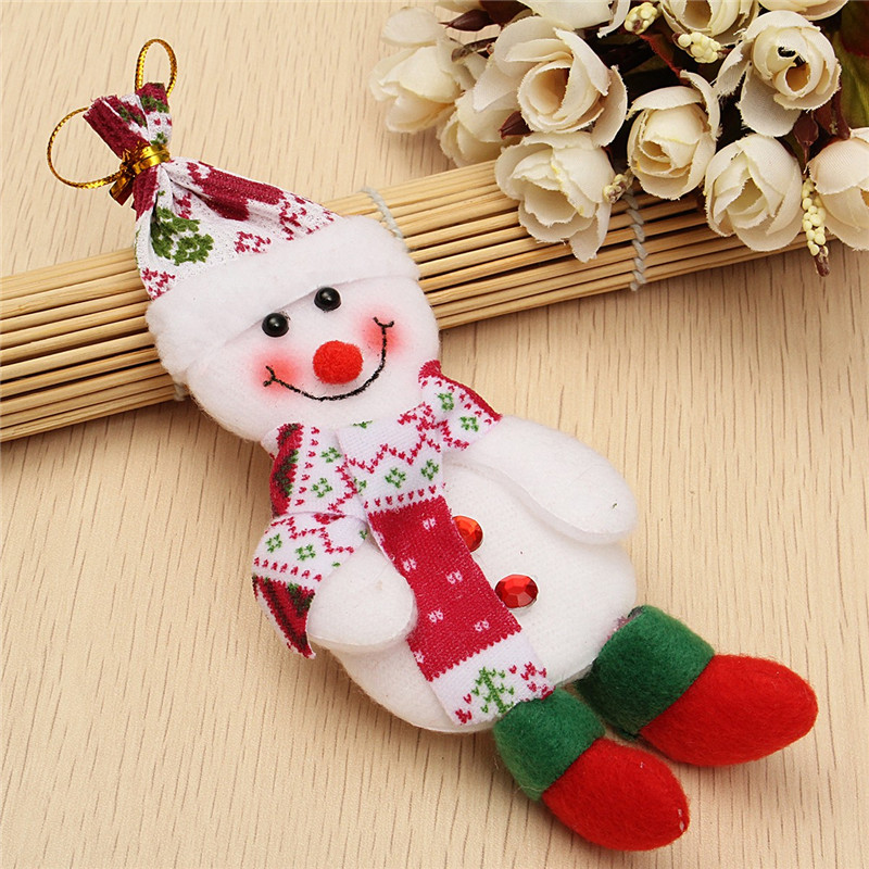 Snowman Bear Elk Ornament Christmas Classical Tree Decoration Home Decor - Photo: 5