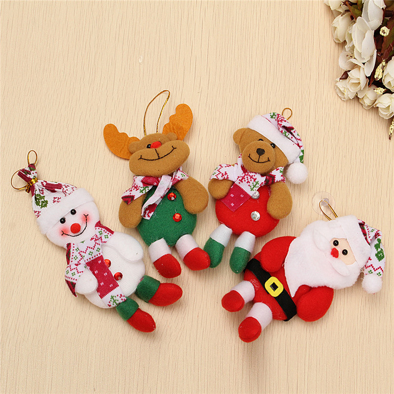 Snowman Bear Elk Ornament Christmas Classical Tree Decoration Home Decor - Photo: 1