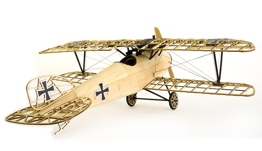 Albatross D.III German Fighter 492mm Wingspan Balsa Wood Airplane Handicrafts Decoration - Photo: 6