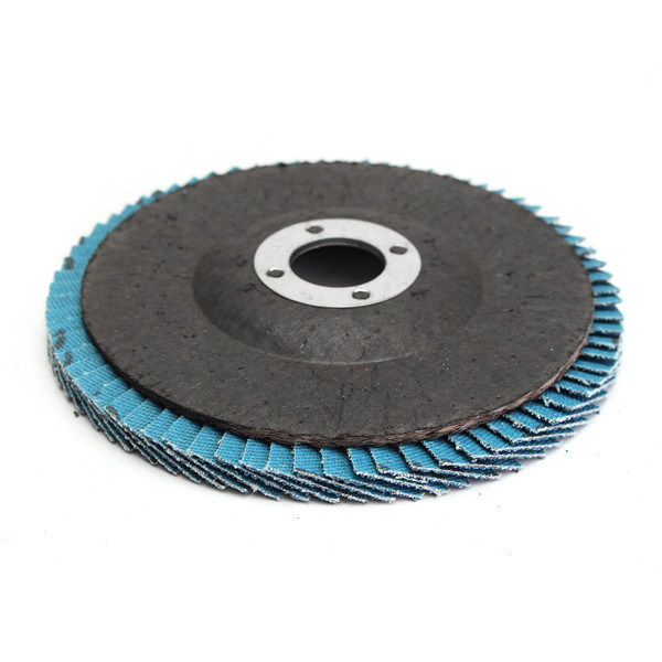 10pcs 4 Inch 40/60/80/120 Grit Flap Disc Sanding Grinding Wheels