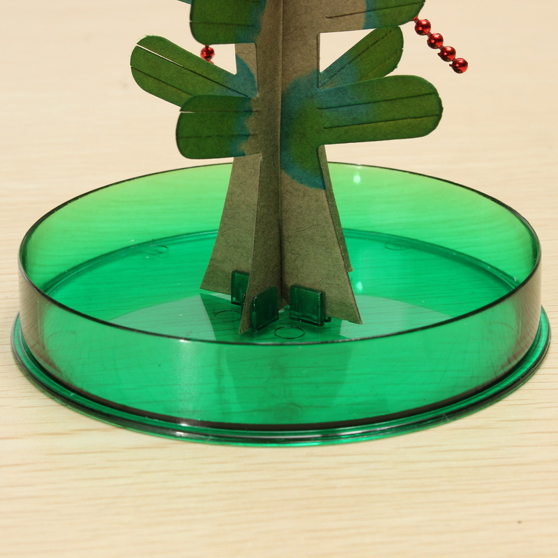 JA Magic Funny Growing Tree With Star Paper Tree Green Paper Art Kids Educational Toy Gift Decor - Photo: 5