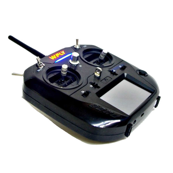 Wfly ET07 2.4GHz 10CH RC Transmitter With RF207S 7CH Receiver