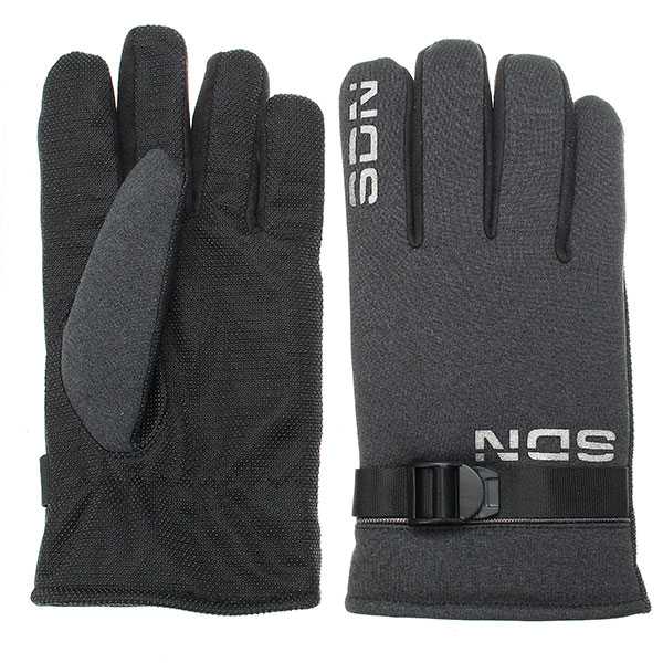 Winter Antiskidding Windproof Warm Thickening Gloves For Riding Climbing Skiing