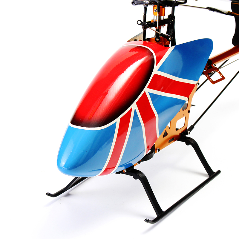 XFX 500 Glass Fiber Canopy RC Helicopter Parts Canopy  - Photo: 3