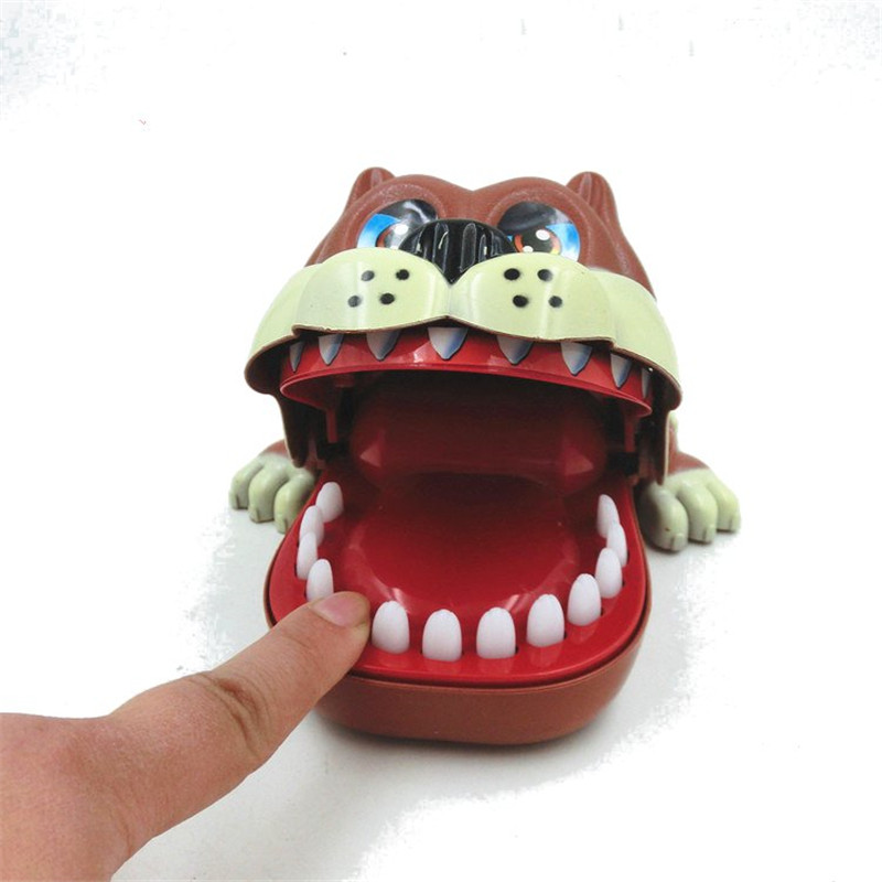 Buy Funny Big Mouth ShaPi Dog Bite Finger Attention Fidget Toys Reduce Stress For Kids Children Gift
