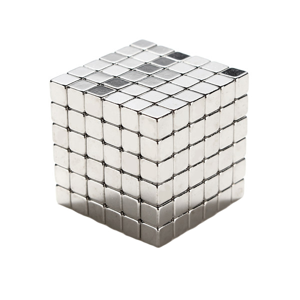 216pcs 5mm Cube Magnets Square 3D Puzzle Ball Sphere Ma