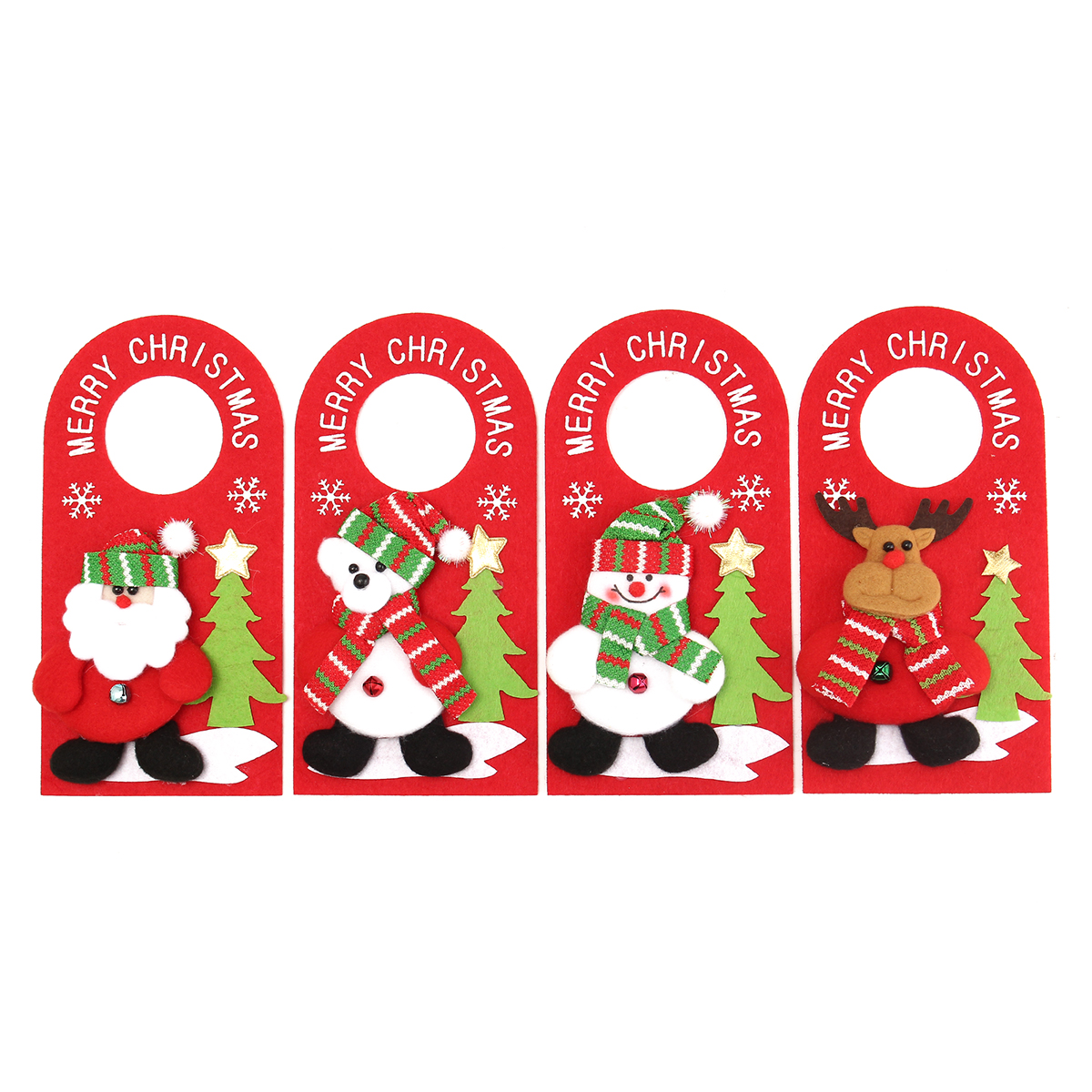 Other toys applique style christmas decor beautiful for Applique decoration