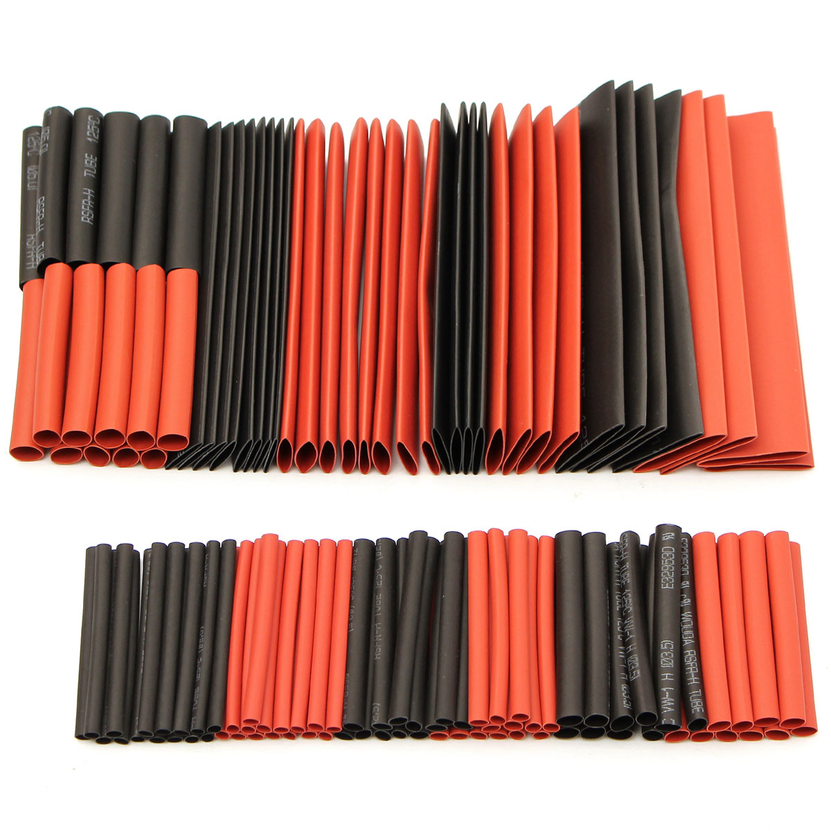 Buy 12Halogen-Free 2:1 Heat Shrink Tubing Wire Cable Sleeving Wrap Kit
