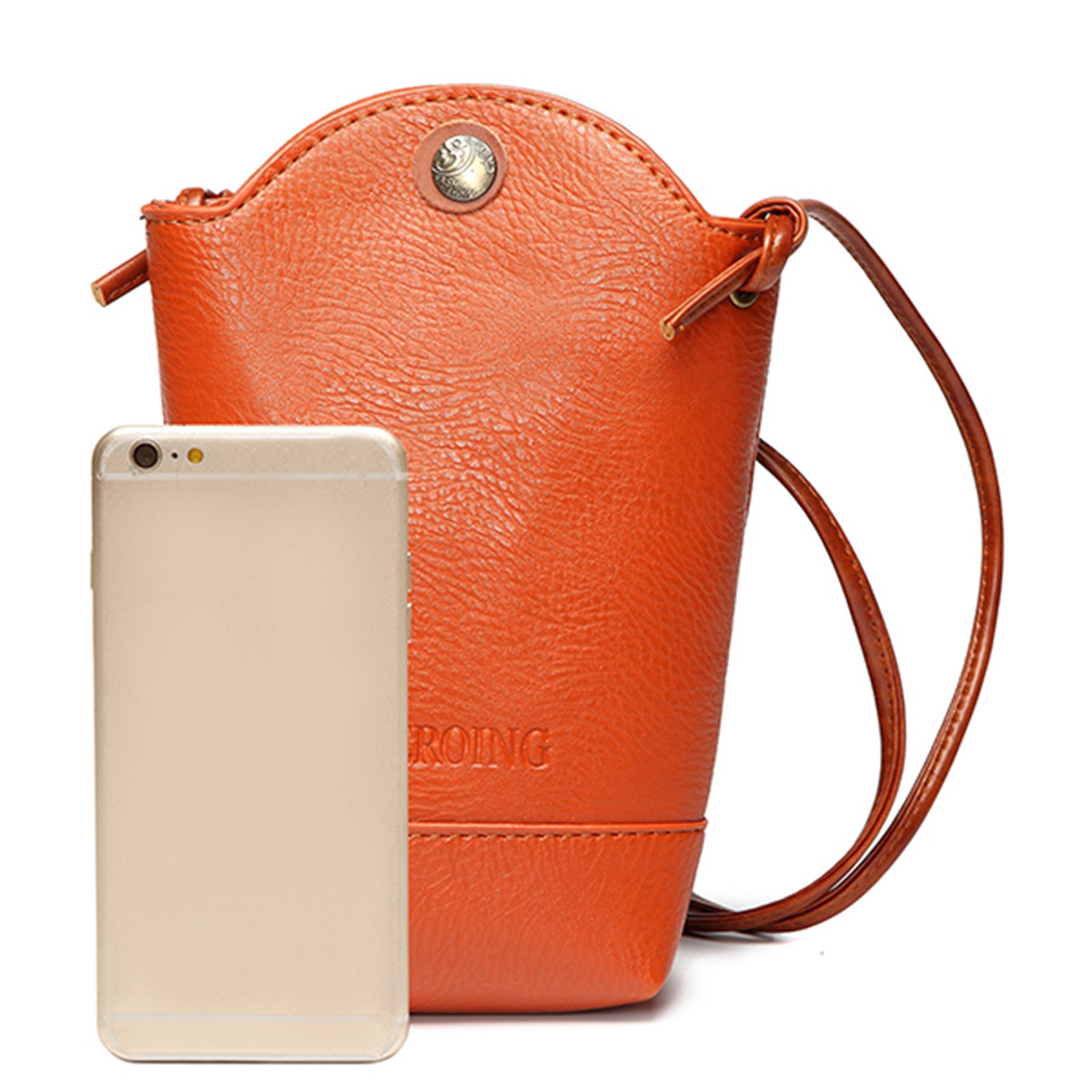 Buy Universal PU Leather Mobile Phone Bag for iPhone 5/5S Samsung Galaxy Note 2/3 S5 S4