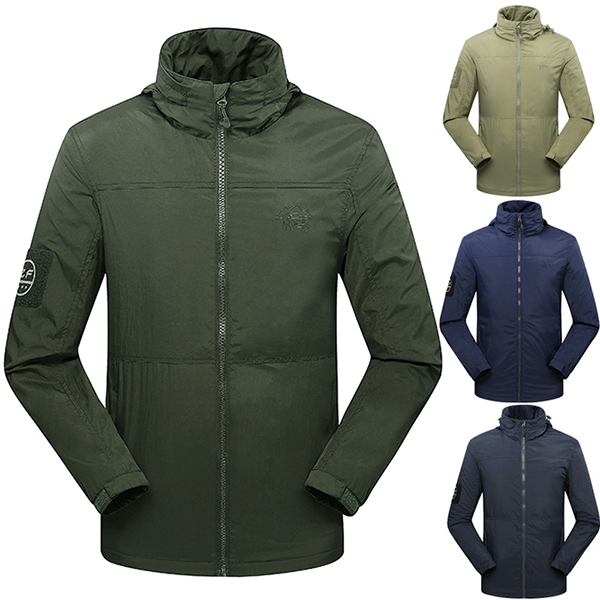 Buy Mens Outdoor Activity Sports Waterproof Windproof Fleece Warm Jacket