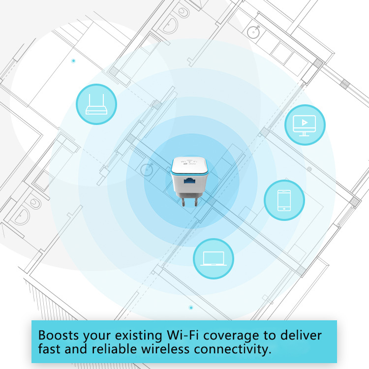 Boosters, Extenders & Antennas - Meross 300Mbps 2 4G Wi-Fi