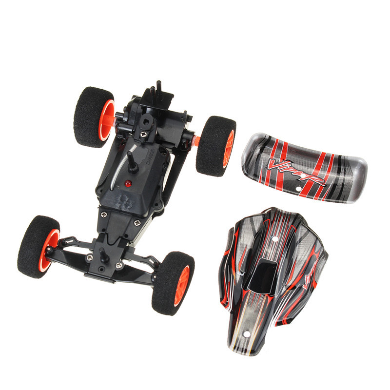 VIPER 9115 1/32 2.4G RC Racing Car Rear Wheel Drive Multilayer in Parallel Operate USB Charging Toys