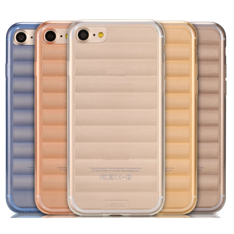 Remax TPU Full Cover Shockproof Back Cover Case For iPhone 7 4.7 Inch