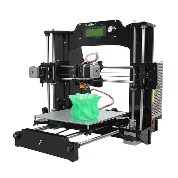 Geeetech Prusa I3 X 3D Printer DIY Kit Full Acrylic Frame 1.75mm 0.35mm / 0.3mm Nozzle
