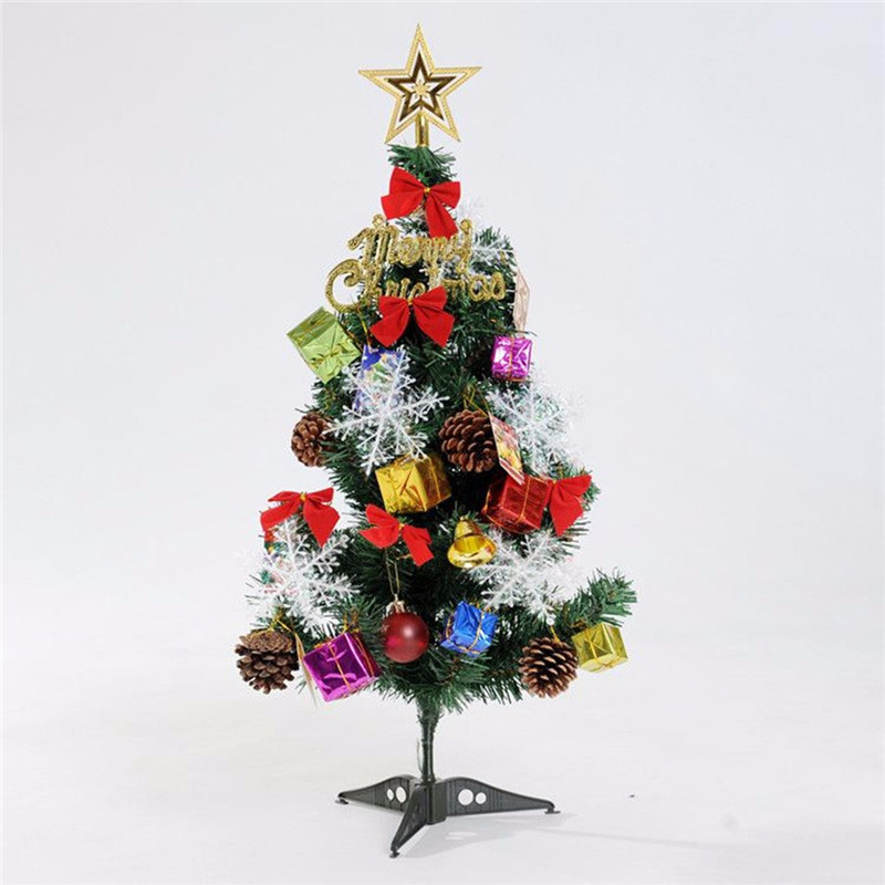 23PCS Christmas Tree Hanging Decoration Presents Santa Apples Bowknot Ornaments - Photo: 2